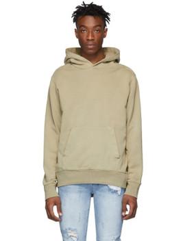 beige-seeing-lines-hoodie by ksubi