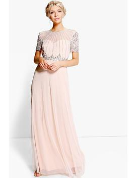 boutique-beaded-maxi-dress by boohoo