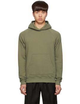 green-raglan-hoodie by john-elliott
