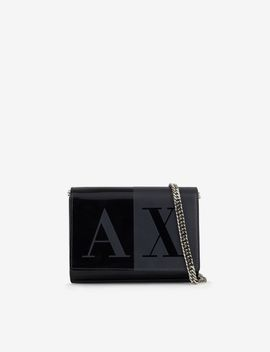 faux-leather-wallet by armani-exchange