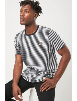 rainbow-graphic-striped-tee by forever-21