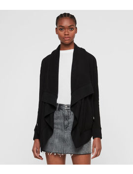 Drape Brushed Jacket by Allsaints
