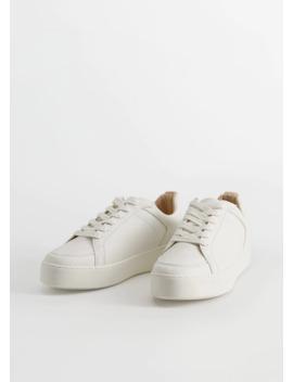 sneakers-met-plateauzolen by mango