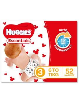 Huggies Essential Crawler Nappies 52 Pack by Huggies