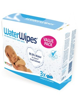 Water Wipes Baby Wipes 180 Pack by Water Wipes