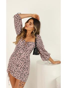 take-it-out-dress-in-pink-animal-print by showpo-fashion