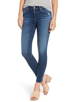 the-legging-raw-hem-ankle-skinny-jeans by ag