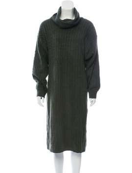 knit-sweater-dress by yves-saint-laurent