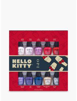 opi-x-hello-kitty-mini-nail-lacquer-gift-set,-x-10 by opi