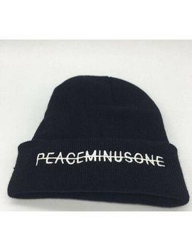 black-hat-kpop-bigbang-gd-g-dragon-fxxk-it-unisex-peaceminusone-knit-hat-beanie by ebay-seller