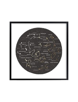 minted®-constellation-map-wall-art-by-jessie-sturey by pottery-barn-kids