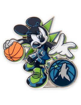 mickey-mouse-nba-experience-pin-–-minnesota-timberwolves-|-shopdisney by disney