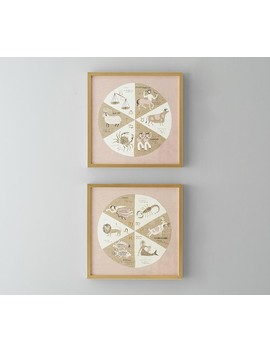 Astrology Framed Wall Art, Set Of 2 by Pottery Barn Kids