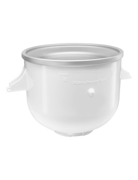 ice-cream-bowl-option-for-bench-mixer:-white-kica0wh by kitchenaid