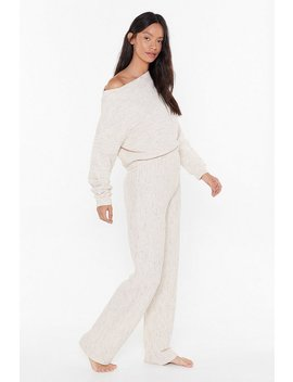 chill-seeker-slouch-jumper-and-trousers-lounge-set by nasty-gal