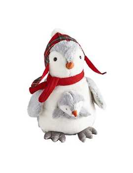plush-penguin-with-baby-stuffed-animal by pier1-imports