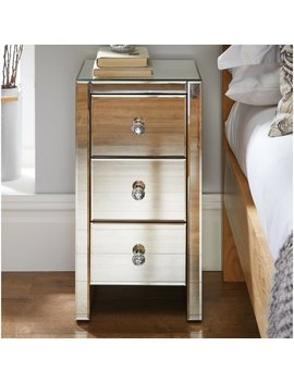 Merrick 3 Drawer Bedside Table by Canora Grey