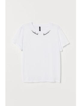 viskózové-tričko by h&m