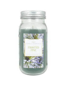candle-essentials-frosted-pine-16-oz-mason-jar-candle by candle-essentials