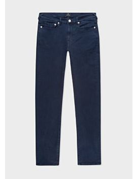 Men's Slim Fit Navy Garment Dye 'reflex Super Stretch' Jeans by Paul Smith