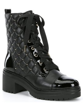 tilda-leather-quilted-combat-booties by michael-michael-kors