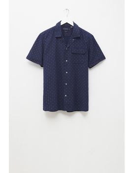 Poplin Dot Shirt by French Connection