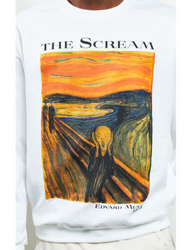 scream-crew-neck-sweatshirt by pacsun
