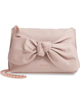 darnna-soft-knot-leather-clutch by ted-baker-london