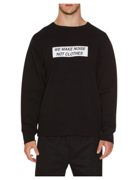Mad Stamp Crewneck Sweatshirt by Undercover