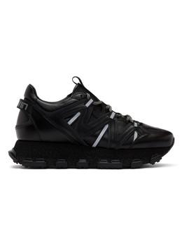 black-lightning-sneakers by lanvin
