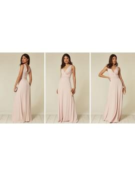 lana-whipped-peach-maxi-bridesmaid-dress by revie-london