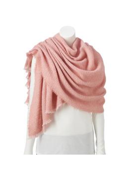 womens-lc-lauren-conrad-woven-blanket-wrap-with-petite-pleat by lc-lauren-conrad