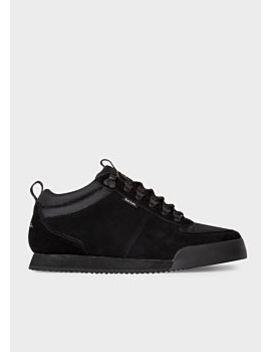 mens-black-harlan-trainers by paul-smith
