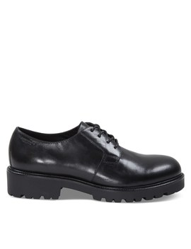Women's Kenova Lace Up Shoes In Black by Vagabond Shoemakers