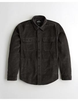 Corduroy Shirt Jacket by Hollister