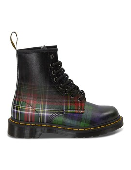 Women's 1460 Tartan Backhand Plaid Boots by Dr. Martens