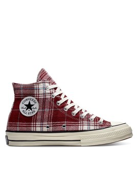 womens-chuck-taylor-all-star-70-high-top-sneakers-in-red-plaid by converse