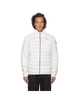white-down-hybrid-jayden-jacket by parajumpers
