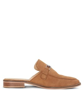 Women's Gigi Slip On Shoe In Cognac by Little Burgundy