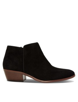 Women's Petty Ankle Boots In Black by Sam Edelman
