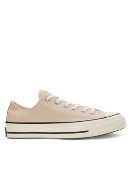 Women's Chuck Taylor All Star 70 Vintage Low Top Sneakers In Light Pink by Converse