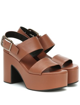 leather-platform-sandals by dries-van-noten