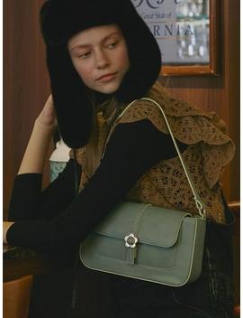 Heyday Flower Baguette Bag Mint by High Cheeks