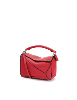 Puzzle Mini Bag       Pomodoro by Loewe