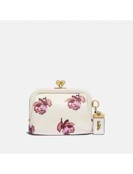 kisslock-coin-purse-with-floral-print by coach