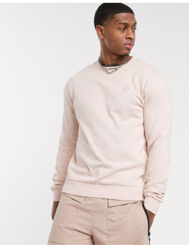 bolongaro-trevor-crew-neck-sweat-in-pink by bolongaro-trevor