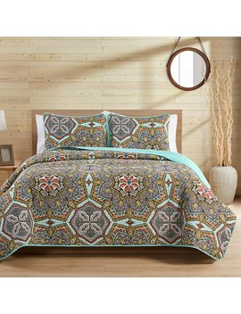 vcny-home-yara-reversible-medallion-quilt-set by vcny-home