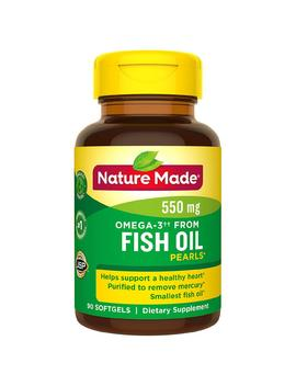 Nature Made Omega 3 From Fish Oil 550 Mg Softgels90.0ea by Walgreens