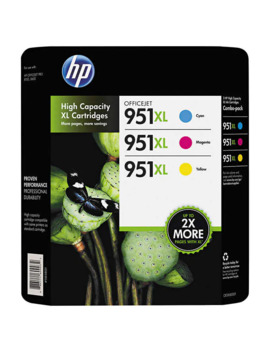 Hp 951 Xl High Yield Ink Cartridge, Tri Color Pack by Hp