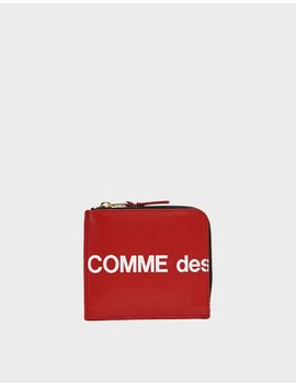 sa3100-huge-logo-wallet-in-red by comme-des-garçons-walletcomme-des-garçons-wallet